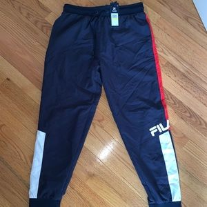 Fila track pants men size M